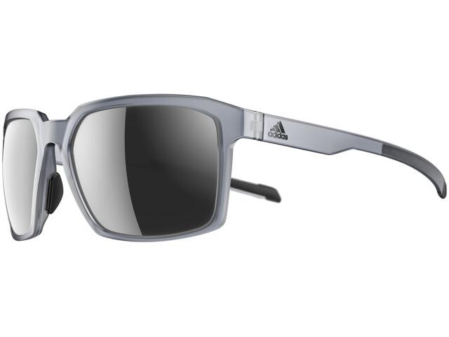 adidas Evolver Glasses grey transparent/chrome